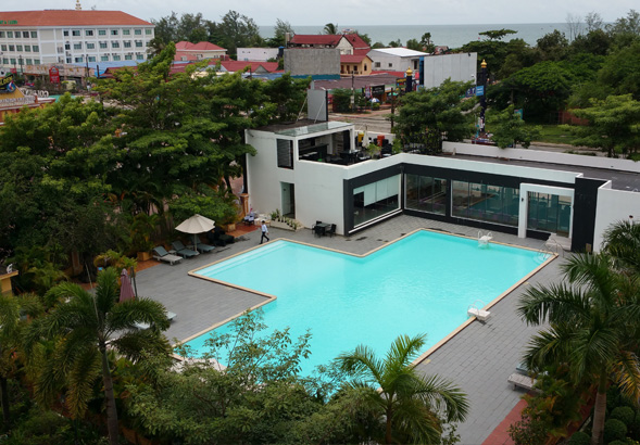 Review of Golden Sand girl friendly hotel in Sihanoukville Cambodia